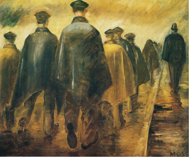 Colin Moss Hunger Marches 1936