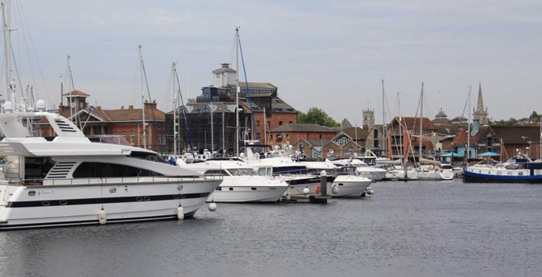 Ipswich waterfront today - Michael Jolly