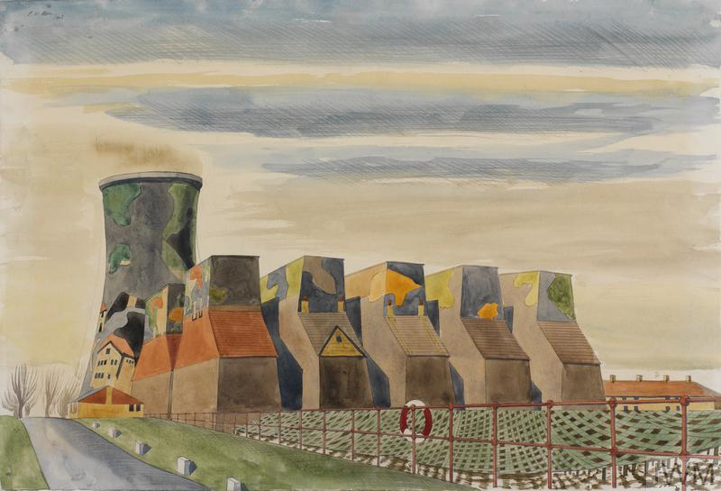 Camouflaged Cooling-towers , Colin Moss