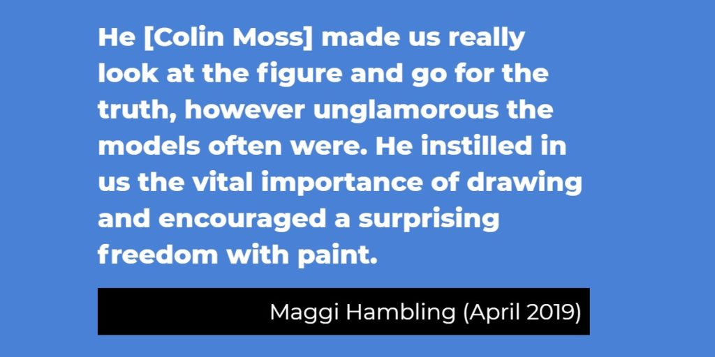 Maggi Hambling on drawing
