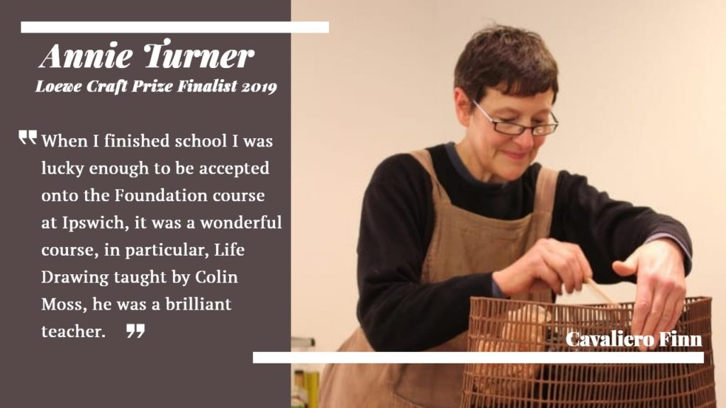 Interview with award winning ceramicist Annie Turner, Loewe Craft Prize Finalist 2019 (and former Colin Moss student) at Cavaliero Finn